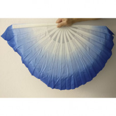 Dancing fan,blue