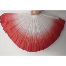 Dancing fan,red
