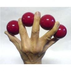 Multiplying Billiard Balls, 5 см,red