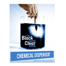 Black Water Clear Water Dispenser