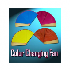 Four color fan,25 см