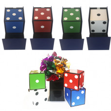 Cubes and Flower Appearing  in Box