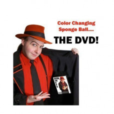 Color Changing Sponge Ball - The DVD