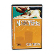 Magic Trick - DVD Amazing Easy To Learn Coin Tricks, DVD семинар