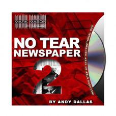 No Tear Newspaper,DVD семинар