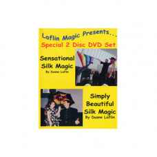 Sensation silk magic by Duane Laflin,DVD