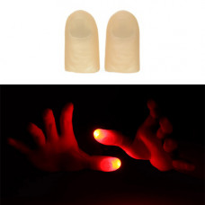 Automatic LED Finger Lamp Red