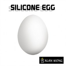 Silicone Egg by Alan Wong,white