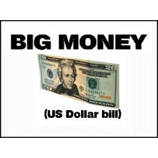 Big Money US Dollar Bill