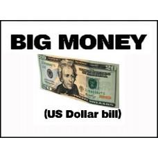 Big Money US Dollar Bill