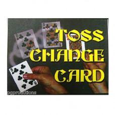 Toss Change Card
