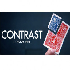 Contrast (DVD and Gimmick) by Victor Sanz and SansMind