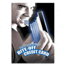 Bite Off Credit Card by Menny Lindenfeld