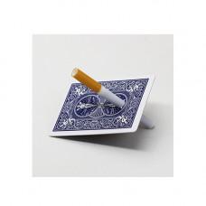 Cigarette Through Card