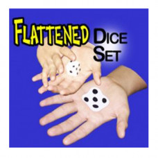 Flattened Dice Set