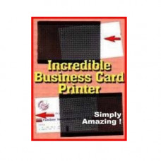 Incredible business card printer