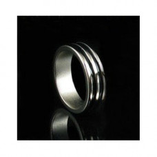 Magic Magnet Ring with double black pattern