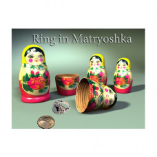 Ring in Nesting Russian Doll