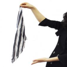 """18""""silk Zebra"""