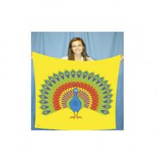 "Peacock Production Silk 45"""