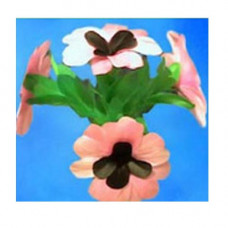 Pink flower Bouquets,set