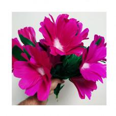 Violet bouquet flowers,set