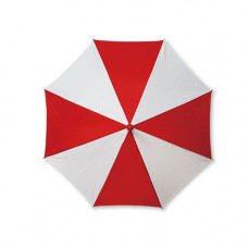 Production Umbrella,red and white