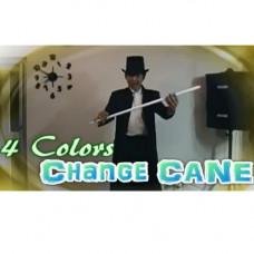 4 Colors Change Cane