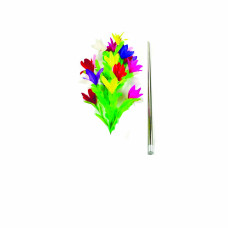 Professional Vanishing silver Cane To Flower