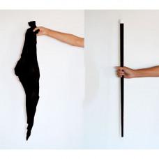 Silk to Cane,black,plastic