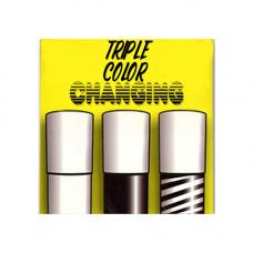 Triple Color Changing Cane,Zebra